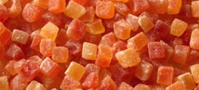 papaya-dices